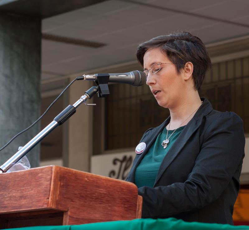 Oratrice Ufficiale Anpi Dr.ssa Ilaria Enrica Mascella